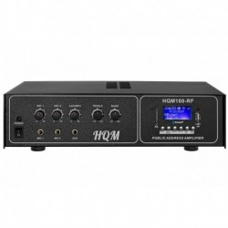 WZMACNIACZ HQM 100 RF MP3 - 230V/12V - BLUETOOTH - PILOT - RADIO FM