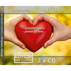 Światło miłości i Power of Love 432 Hz