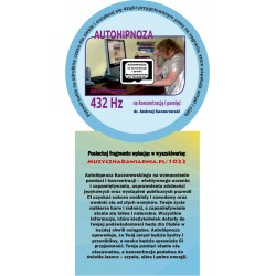 Autohipnoza na koncentracje i pamięć 432 Hz