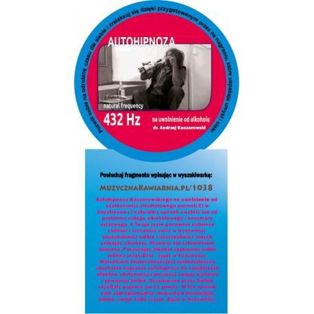 Autohipnoza na uwolnienie od alkoholu 432 Hz
