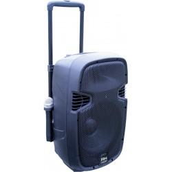 KOLUMNA MOBILNA PP-2112AUS-CB MP3 - ZASILANIE AKUMULATOROWE - BEZ RADIA