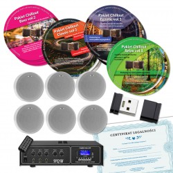 NAGŁOŚNIENIE MP3 - GŁOŚNIKI NATYNKOWE - MUZYKA BEZ OPŁAT ZAiKS
