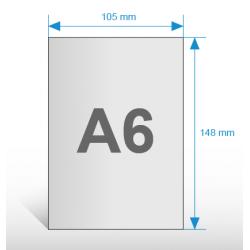 Ulotki A5 - papier eco - druk dwustronny